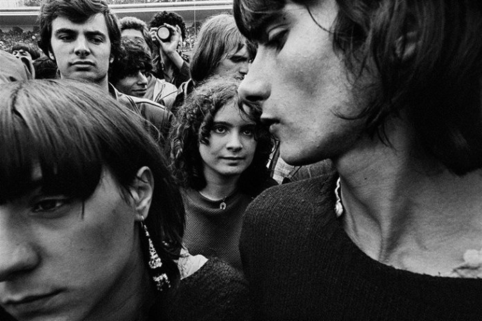 William Klein Concierto Rolling Stones París 1982