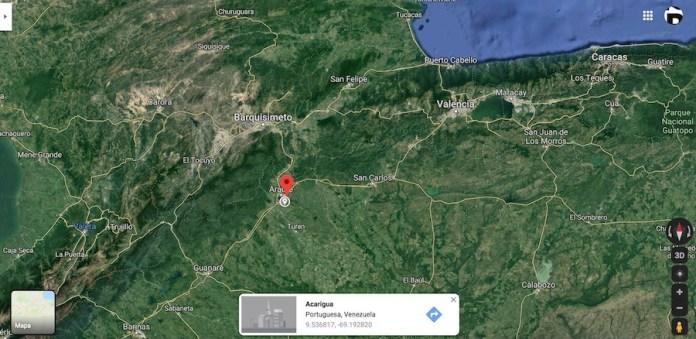 Acarigua, Venezuela, googlemaps