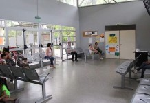 Centro de salud de barrio en Buenos Aires
