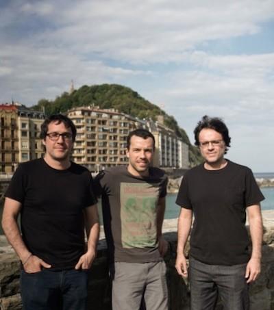 Daniel y Diego Vega con Rodrigo Palacios en San Sebastián 2019