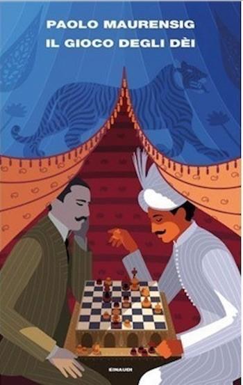 Portada de la edición italiana de la obra premiada 'Il gioco degli dei'