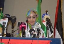 La saharaui Aminetu Haidar