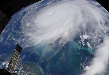 NASA: El huracán Dorian visto desde la Estación Espacial Internacional el 2 de septiembre de 2019.