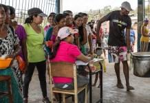 NRC/Ingebjørg Kårstad: Distribución de comida en Venezuela