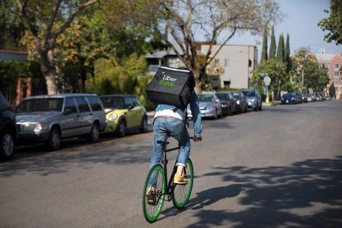 Uber eats repartidor