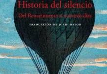 Historia del silencio cubierta
