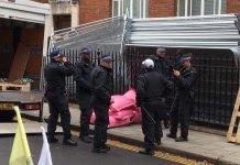 Londres policia Extinción Rebelión