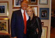 Donald Trump con Paula White
