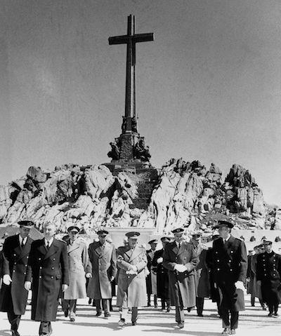 Hace 60 años, 1959, España, Franco en el Valle de los Caídos