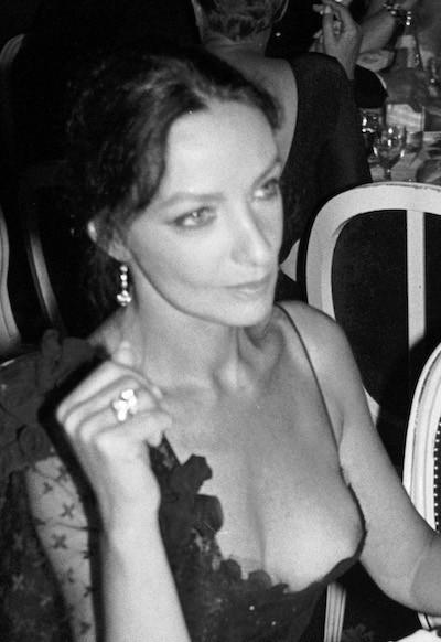 Marie Laforet, en el Festival de Cine americano de Deauville, 1989.