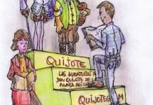 Quijote en cuatro pasos