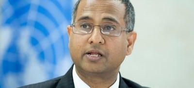 Ahmed Shaheed, relator especial de la ONU sobre la libertad de religión. Foto de archivo: ONU/Jean-Marc Ferré