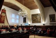 Sexta ronda celebrada en el histórico edificio de la Universidad de Salamanca. Foto: Alberto Prieto
