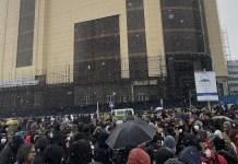 Iran: protestas sociales en noviembre de 2019