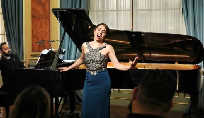 Paola Leguizamón en el Teatro de la Zarzuela de Madrid, 9 de diciembre de 2019