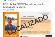 Fidel Avila Gomez localizado