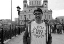 Manuel Regalado en Moscú