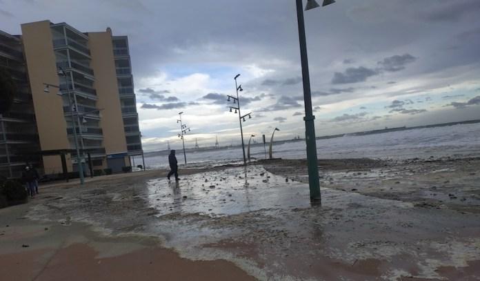 Tarragona La Pineda Paseo maritimo Gloria 2020
