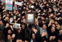 protestas por el asesinato del general iraní Qasem Soleimani