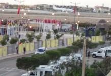 Can El Aaiun policías estadio