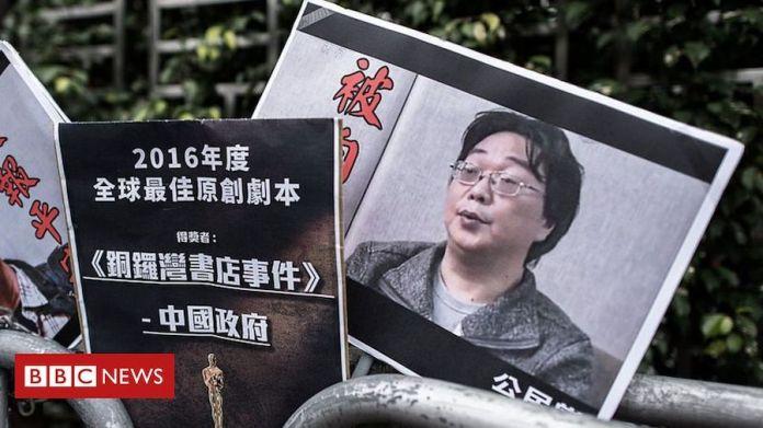 Protestas por el encarcelamiento de Gui Minhai