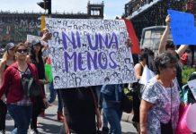 Protestas por el asesinato de mujeres en México