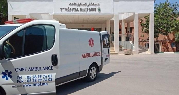 Fachada del Hospital Militar en El Aaiún