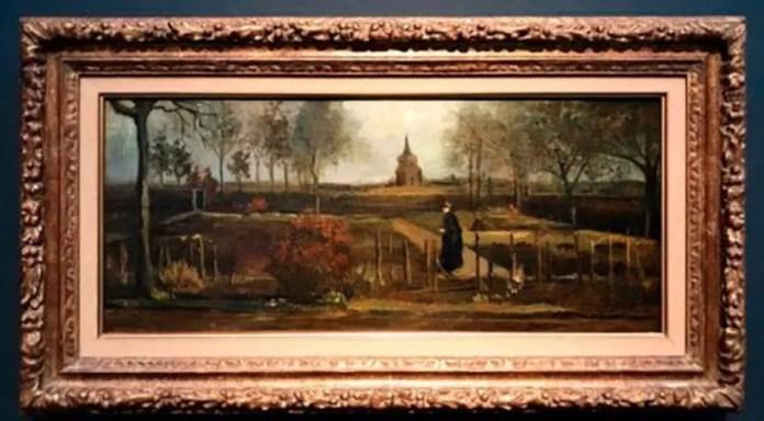 Van Gogh El jardín del presbiterio de Nuenen