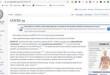 Wikipedia Covid-19