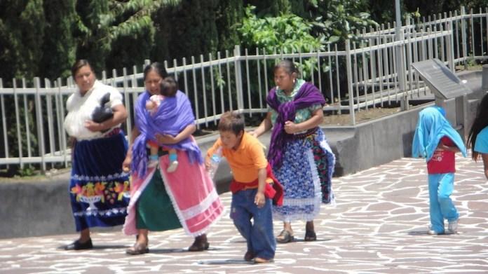 mujeres Indigenas mexicanas @Kontxaki