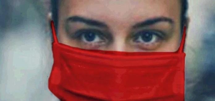 Barbijo rojo violencia de género