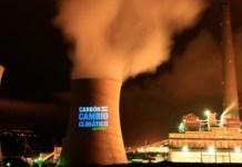 Greenpeace cambio climático carbón