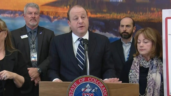 Jared Polis, gobernador de Colorado