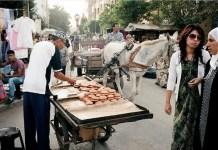 Mercado callejero de Tiflet