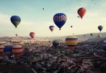 Turquía turismo en globo