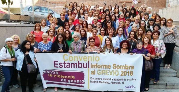 Mujeres defienden Convenio de Estambul