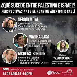 Debate sobre ocupación Palestina por Israel