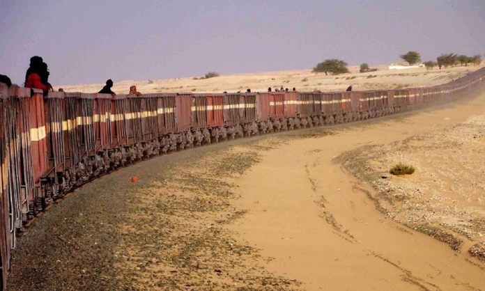 Tren del Sáhara vagones