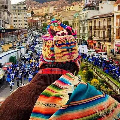 Bolivia acto electoral OCT2020