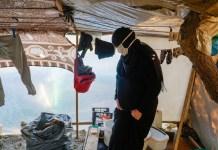 Omaima refugiada siria en Vathy © fernando G. Calero