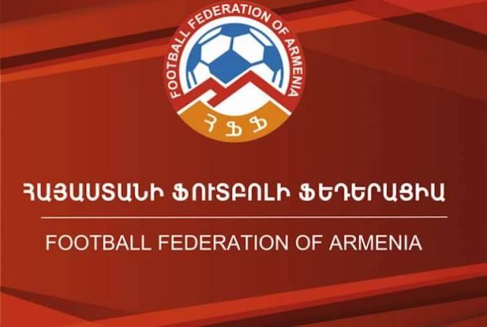 Logotipo de la Federación Armenia de Fútbol