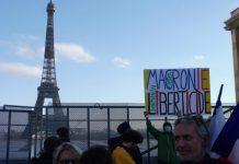 Paris 21NOV2020 Macron liberticida