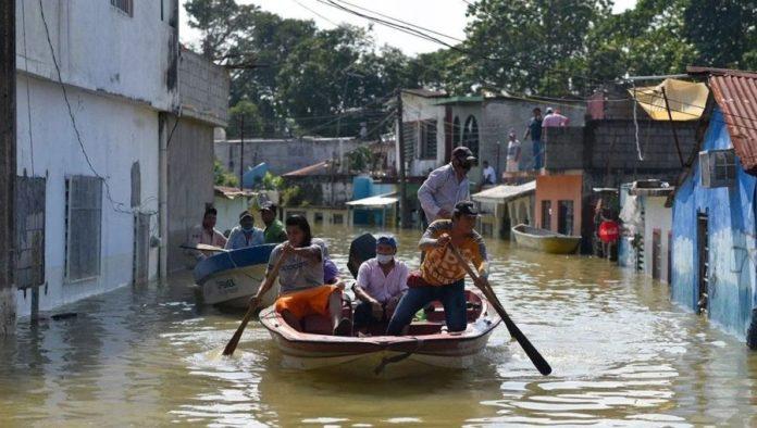 Tabasco, México, inundaciones, NOV2020