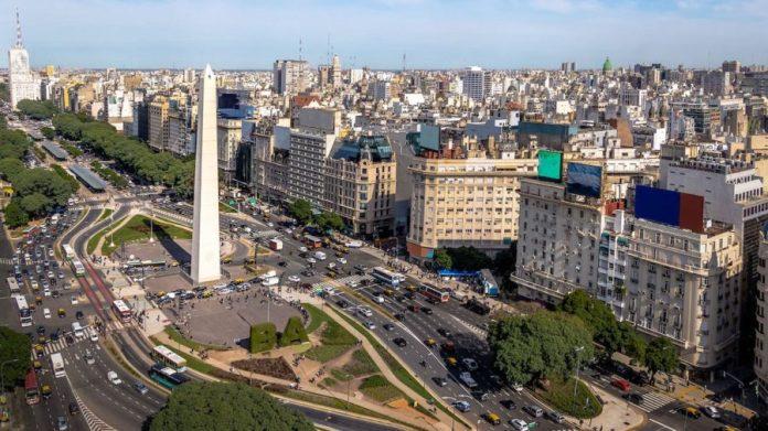 Buenos Aires vista aérea