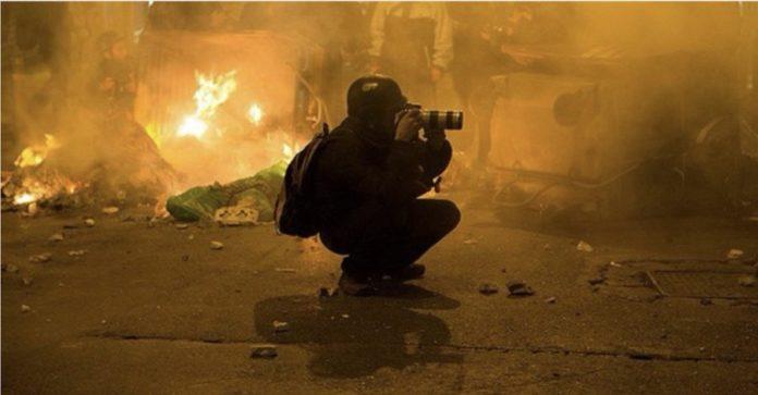 periodistas fotoperiodistas reporteros