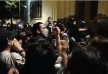 Protestas sociales en Guatemala 28NOV2020