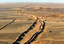 Muro Marruecos Sáhara ocupado
