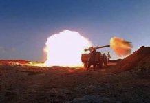 Sáhara Lanzamiento misil por fuerzas saharauis