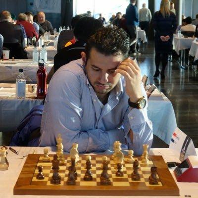 El gran maestro egipcio, ganador de las competiciones, Ahmed Adly