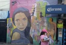 Mural recuerdo de la ingeniera bioquímica Viviana Elizabeth Garrido Ibarra, quien desapareció a los 32 años de edad el 30 de noviembre de 2018 en un barrio del sur de Ciudad de México. Foto: Emilio Godoy /IPS